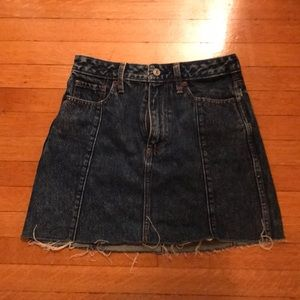 Abercrombie & Fitch - Jean Skirt